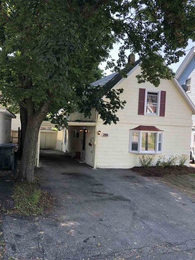 Manchester Single Family Home For Sale: 299 Pearl Street