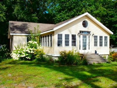 Addison County Single Family Home For Sale: 6386 Vt. Route 125 Route