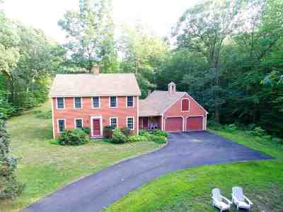 Hopkinton Single Family Home Active Under Contract: 921 Broad Cove Road