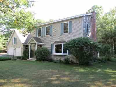Moultonborough Single Family Home For Sale: 34 Cloudview Drive
