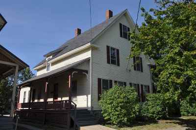 Concord Multi Family Home Active Under Contract: 12-14 West Street