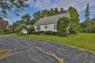 Merrimack Single Family Home For Sale: 632 Daniel Webster Highway