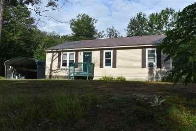 Hillsborough Single Family Home For Sale: 238 Old Henniker Road