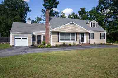 Nashua Single Family Home Active Under Contract: 40 Dunbarton Drive