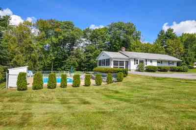 Laconia Single Family Home Active Under Contract: 89 Eastman Road