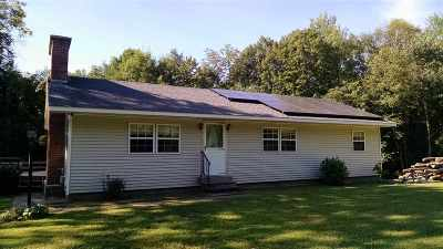 Shrewsbury Single Family Home For Sale: 3543 Cold River Road