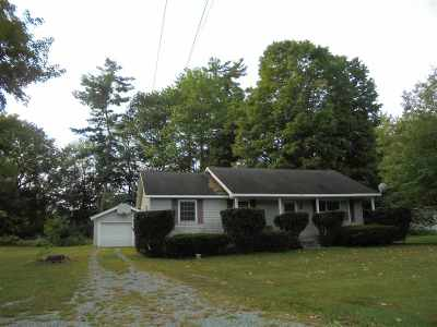 Castleton Single Family Home Active Under Contract: 533 Route 4a West Street