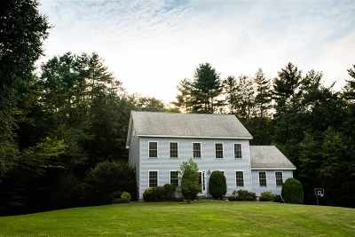 Henniker Single Family Home Active Under Contract: 28 Highland Drive