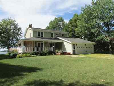 Alburgh Single Family Home For Sale: 1396 Windmill Point
