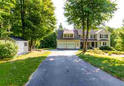 Milford NH Single Family Home For Sale: $469,900