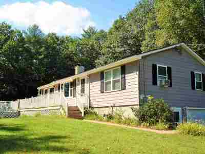 Loudon Single Family Home Active Under Contract: 134 Bee Hole Road