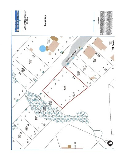 Manchester Residential Lots & Land For Sale: 332 Groveland Ave.