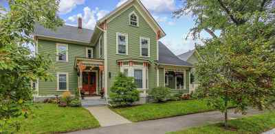 Manchester Single Family Home Active Under Contract: 160 Harrison Street