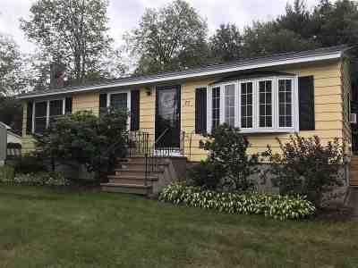 Rochester Single Family Home Active Under Contract: 77 Salmon Falls Road