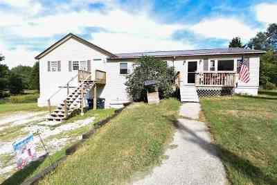 Milton Single Family Home For Sale: 124 Manley Road