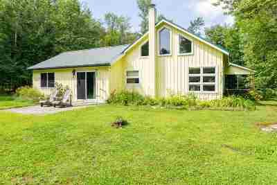 Underhill Single Family Home For Sale: 74 Range Road