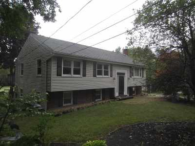 Weare Single Family Home For Sale: 1030 Concord Stage Road
