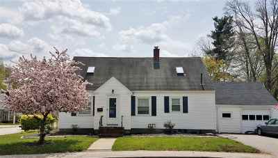 Nashua Single Family Home Active Under Contract: 284 Lake Street