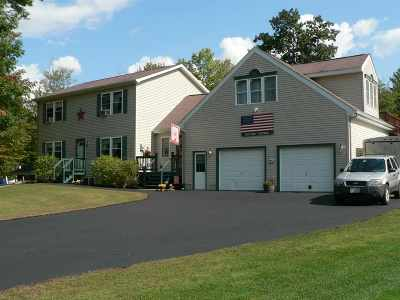 Belknap County Single Family Home For Sale: 77 Mile Hill Road