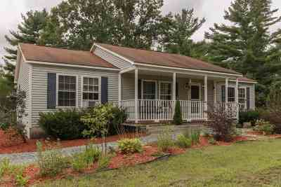 Rochester Single Family Home Active Under Contract: 38 Flagg Road