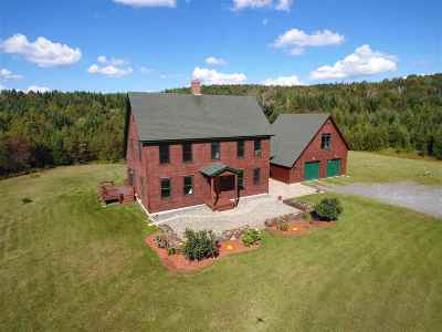 Caledonia County Single Family Home Active Under Contract: 1867 Cobb Road