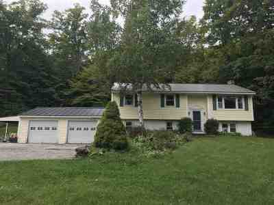 East Montpelier Single Family Home Active Under Contract: 440 Horn Of The Moon Road