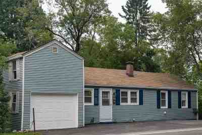 Hooksett Single Family Home Active Under Contract: 469 West River Road