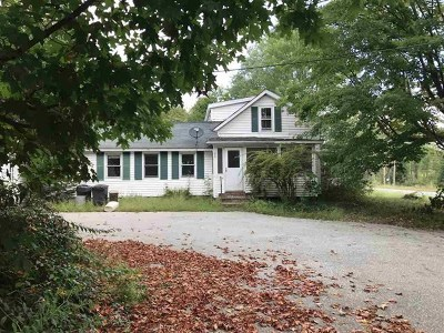 Belmont Single Family Home For Sale: 548 Laconia Road
