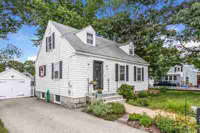 Manchester Single Family Home Active Under Contract: 62 Orchard Avenue