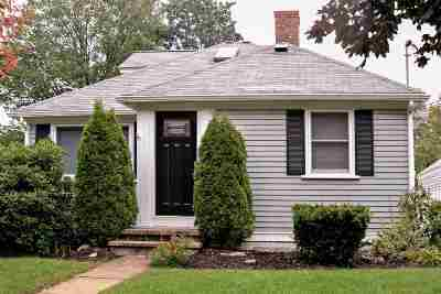 Manchester Single Family Home Active Under Contract: 243 Ashland Street
