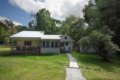 Bradford Single Family Home For Sale: 1368 Flanders Brook Road