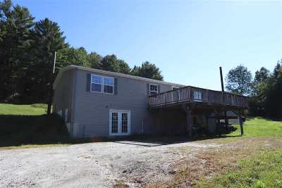 Caledonia County Single Family Home For Sale: 1267 East Peacham Road