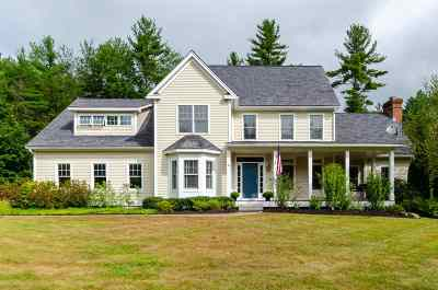 Amherst Single Family Home Active Under Contract: 4 Huckabee Farm Lane