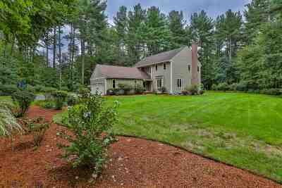 Merrimack Single Family Home Active Under Contract: 142 Camp Sargent Road