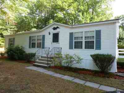 Wolfeboro Mobile/Manufactured Active Under Contract: 15 Harvey Brook Road