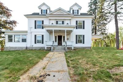 Belknap County, Carroll County, Cheshire County, Coos County, Grafton County, Hillsborough County, Merrimack County, Rockingham County, Strafford County, Sullivan County Single Family Home For Auction: 608 River Road