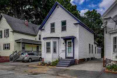 Manchester Single Family Home Active Under Contract: 87 Parker Street