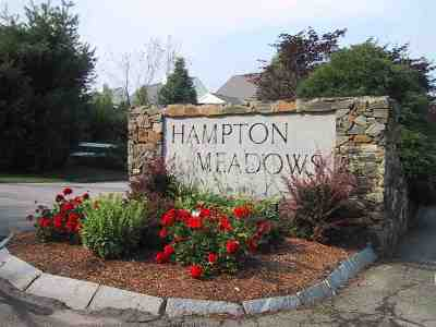Condo/Townhouse Active Under Contract: 127 Hampton Meadows