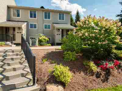 Cambridge Condo/Townhouse For Sale: 12 Poolside At Smugglers' Notch Resort Drive #12