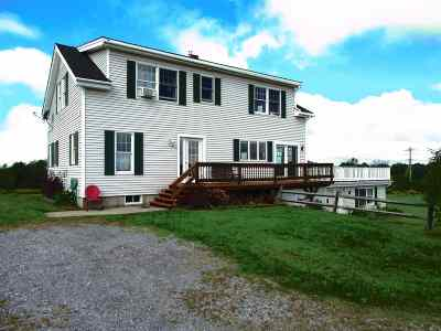 New Haven Single Family Home For Sale: 3833 Ethan Allen Highway