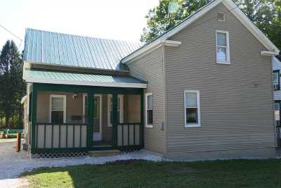 Swanton VT Single Family Home For Sale: $169,000