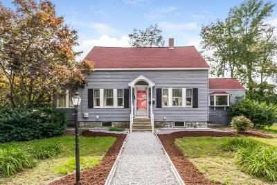 Hudson Single Family Home Active Under Contract: 34 Baker Street