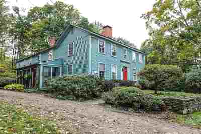 Dunbarton Single Family Home Active Under Contract: 70 Tenney Hill Road