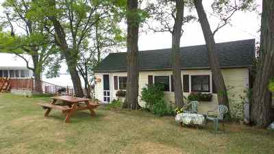 Swanton VT Single Family Home For Sale: $155,000