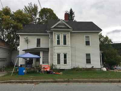 Caledonia County Multi Family Home For Sale: 363 Lafayette Street