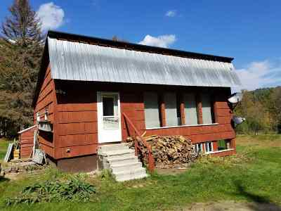 Caledonia County Single Family Home For Sale: 3665 McDowell Road