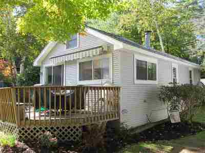 Gilford Single Family Home For Sale: 261 Dockham Shore Road #A