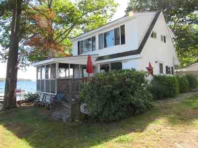 Gilford Single Family Home For Sale: 171 Dockham Shore Road #2