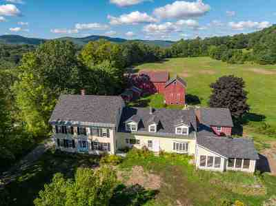 Lyme Single Family Home For Sale: 376 River Road