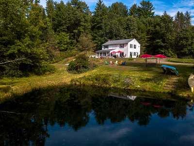 Merrimack County Single Family Home For Sale: 59 Sandogardy Pond Road